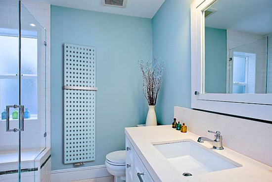 bathroom radiators trendy