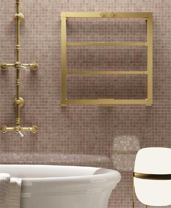 brass bathroom radiator