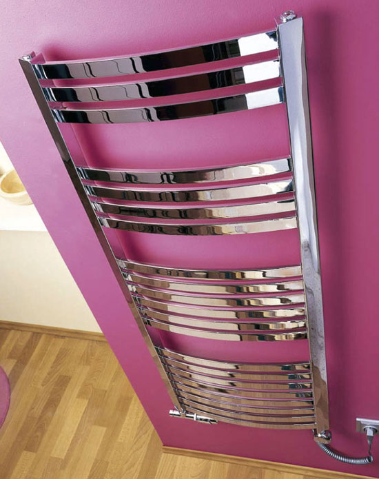 chrome electric towel rail foxi