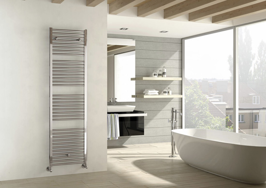 chrome heated towel rails arsenal
