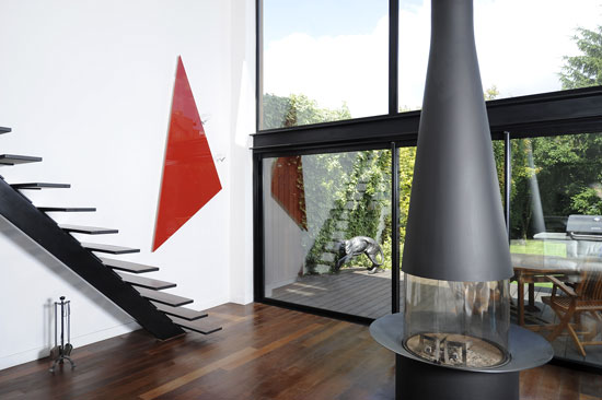 contemporary radiators triangle