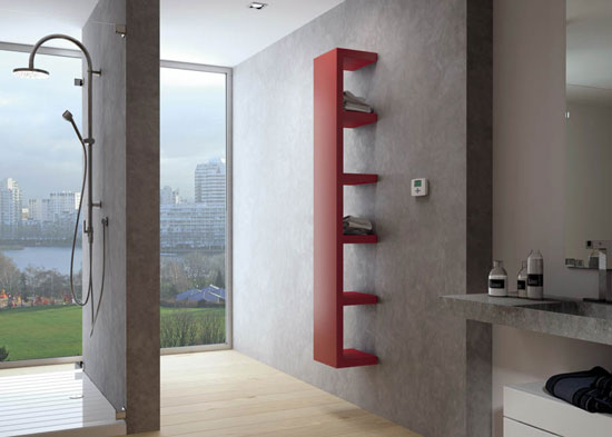 electric bathroom radiator voros