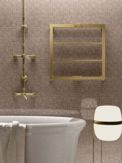 brass radiators, copper radiators, brass heated towel rails
