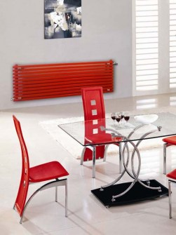 horizontal radiators, horizontal designer radiators, long radiators