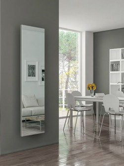 mirror radiators, designer mirror radiators, mirrored radiators