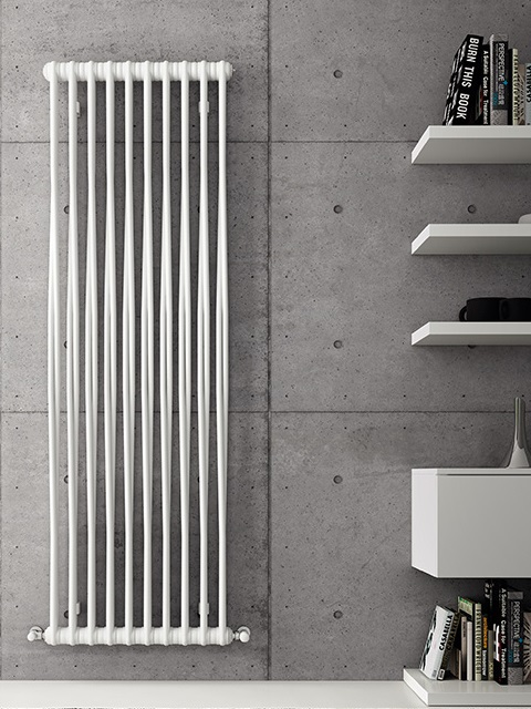 designer radiators, tubular radiators, modern radiators