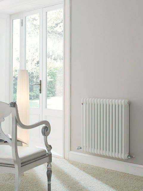 low temperature column radiators, low water temperature radiators,