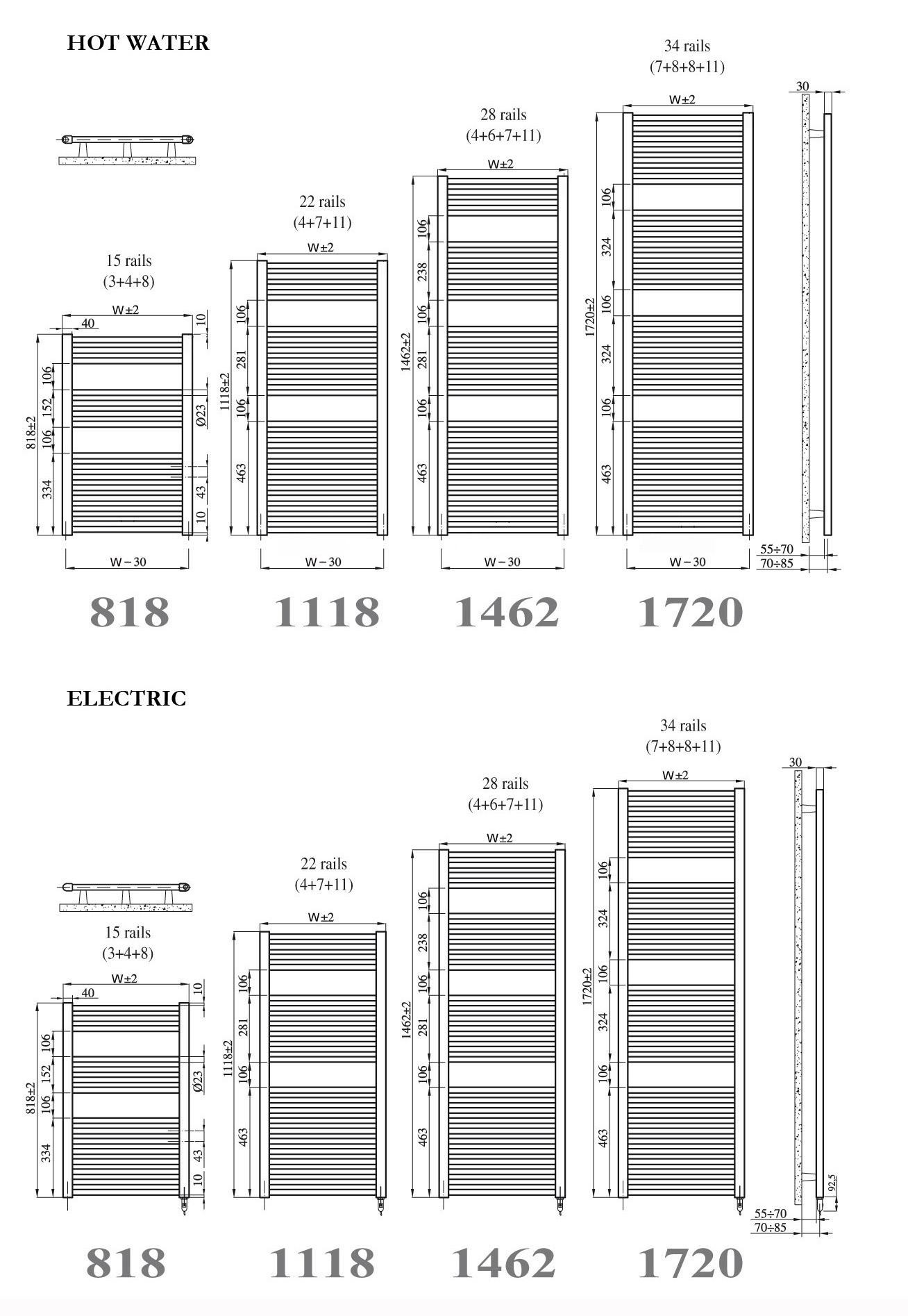 Towel Radiators Arsenal Heated Rail Senia Warmer Wiring Diagram Colours