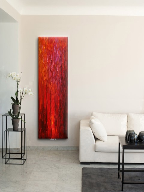 modern radiators, artistic radiators, electric art radiators, bedroom designer radiators, art wall radiators