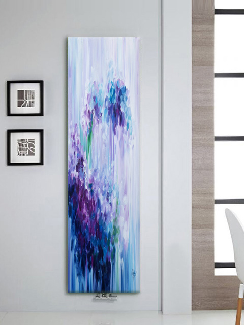 designer radiators, artistic radiators, electric wall radiators, bedroom designer radiators, art wall radiators