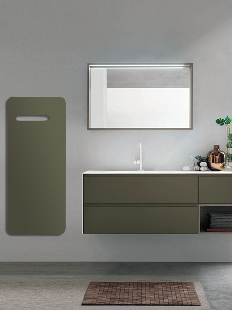 electric bathroom radiator, glass radiator, glass electric radiator