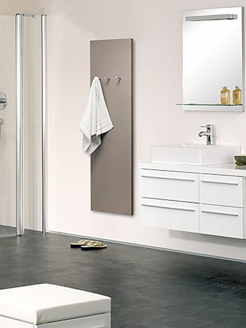 stylish towel radiators, flat bathroom radiators, elegant bathroom radiators,
