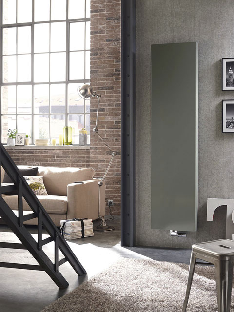 grey radiators, slimline radiators, vertical radiator, anthracite radiators