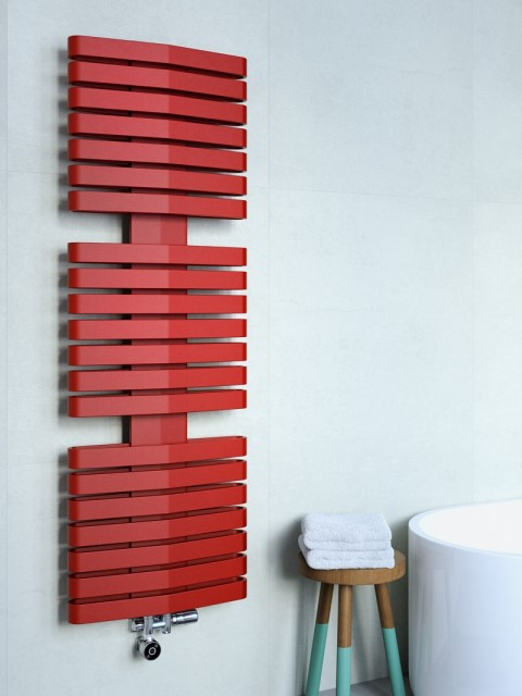 towel radiators, electric towel radiators, coloured towel radiators, designer towel radiators