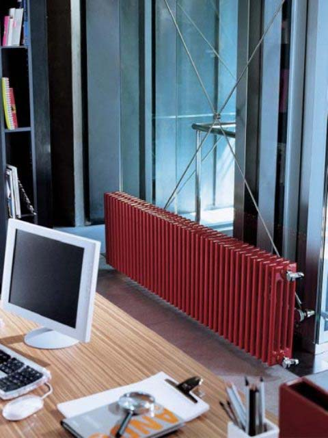 column radiators, red radiators, high output radiators