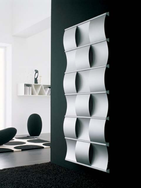 designer radiators, creative radiator, luxury radiators, silver radiators, decorative radiators