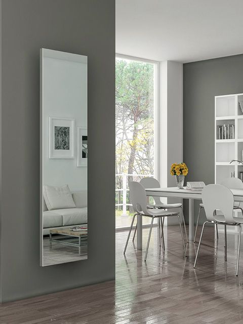 mirror radiators, mirrored radiators, electric mirror radiators