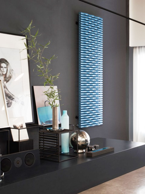 horizontal radiators, coloured radiators, designer radiators, luxury radiator