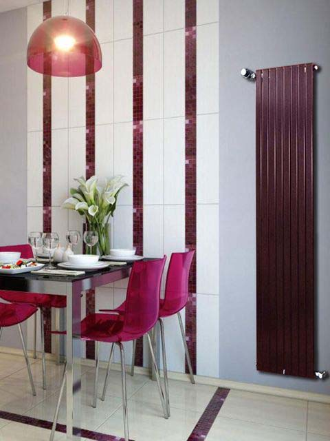 claret radiators, wall mounted radiator, tubular radiators