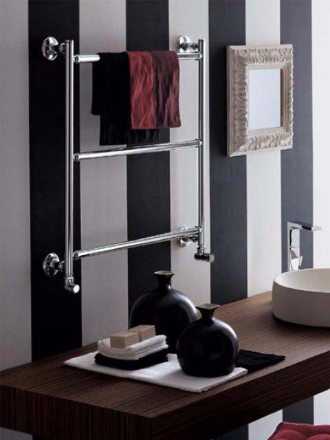 heated towel rails, towel warmers, chrome towel warmers