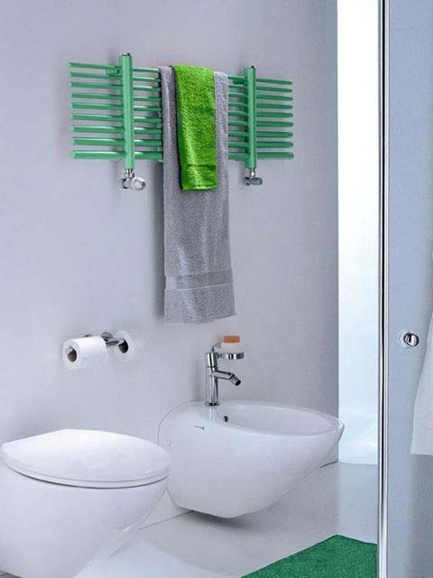electric towel rails, dual fuel towel rails, green towel warmer