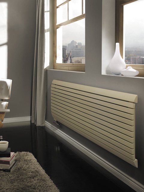 central heating radiators cord horizontal radiator senia. Black Bedroom Furniture Sets. Home Design Ideas