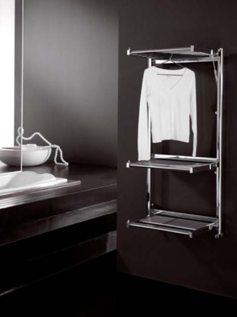 chrome heated towel rails, heated airers, chrome heated towel rail