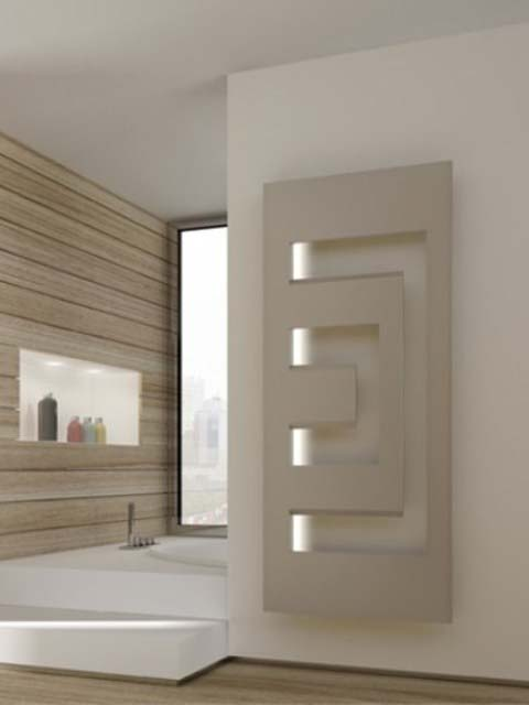 contemporary radiators, designer radiator, radiators with led, coloured radiators