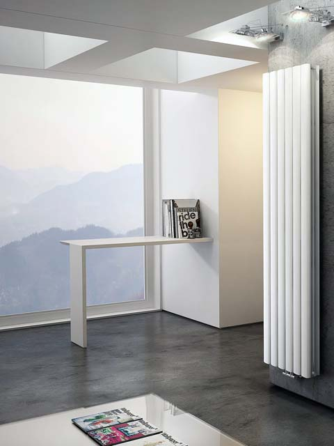 aluminium radiators, high heat output radiators, kitchen radiators