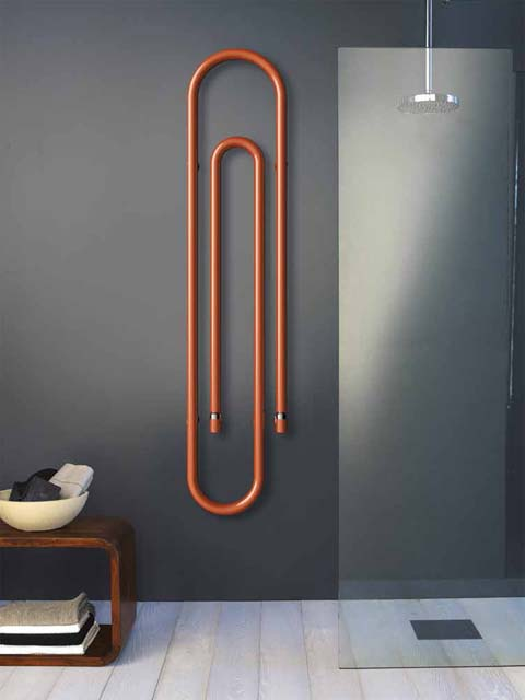 Graffiti designer radiator paperclip radiators for Household radiator design