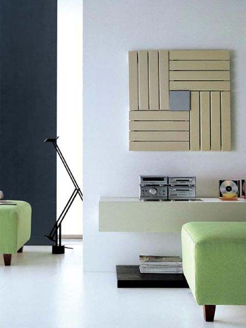 unusual radiator, beige radiator, funky radiators