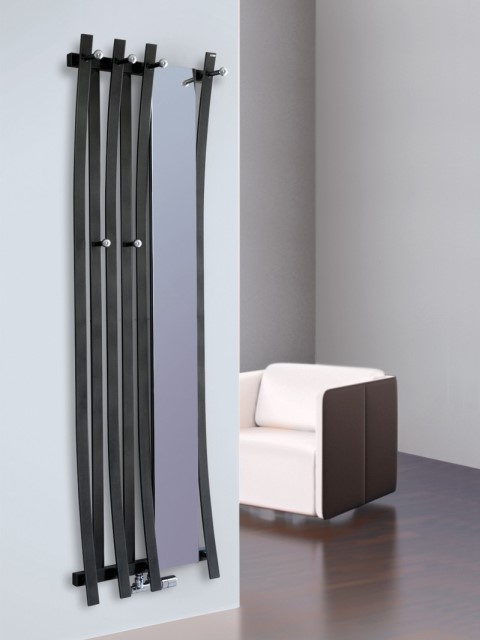 mirror radiators, coat rack radiators, cloak room radiators