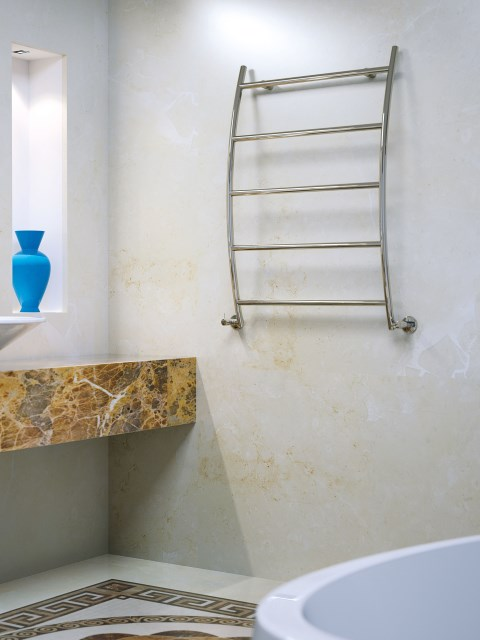 brass radiators, brass heated towel rails, silver bathroom radiators