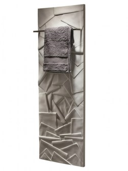 stone bathroom radiator, elegant batroom radiator, unique bathroom radiator