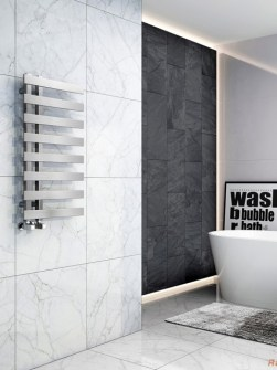 towel radiators, chrome bathroom radiators, chrome radiators