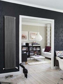 gray radiators, anthracite radiators, tall radiators