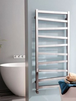 chrome towel rails, electric towel radiators, bathroom radiators, dual fuel towel rails