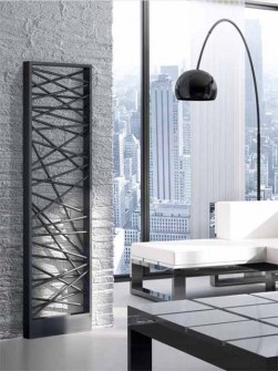 modern radiators, anthracite radiators, unusual radiators