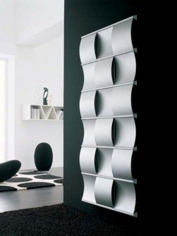 designer radiators, creative radiator, luxury radiators, silver radiators