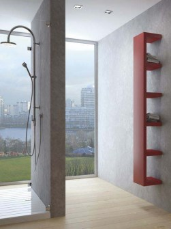funky radiators, unusual radiators, red radiators