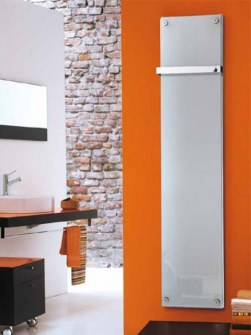 glass panel heaters, glass radiators vertical, glass radiators