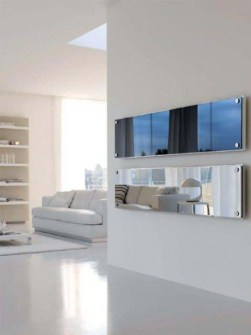 flat panel radiators, luxury radiators, stainless steel radiators