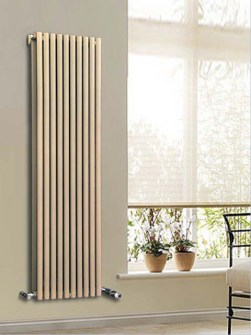beige radiators, vertical radiators, central heating radiators