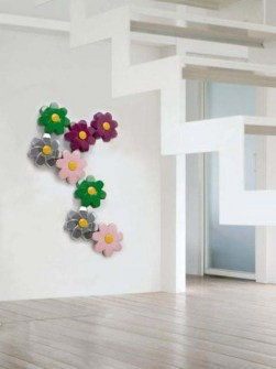 flower radiator, contemporary radiators, green radiators