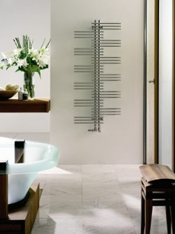 chrome towel radiator, electric towel warmes, trendy towel radiators