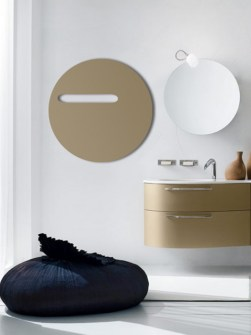 glass bathroom radiators, beige electric radiators, round radiator