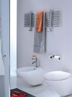 chrome electric towel rails, chrome dual fuel towel rails, chrome towel warmers