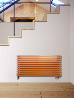 yellow radiators, heating radiators, stylis radiators, coloured radiator