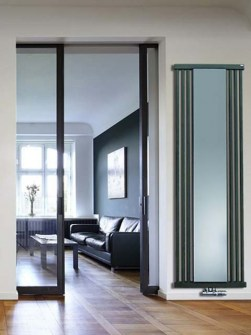 anthracite radiators, cloak room radiators, mirror radiators
