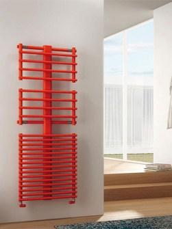 red radiator, heated airers, heated clothes airers
